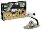 Revell-germany 1/96 Apollo 11 Columbia And Lunar Module Eagle 50th