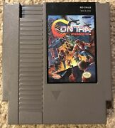 Contra Force Nes Nintendo Cartridge Only. Authentic, Cleaned And Tested.