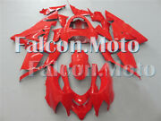 Fairing Fit For 04-05 Kawasaki Zx10r 2004-2005 Red Plastic Injection Abs New Aab