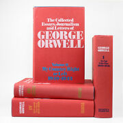 Collected Essays Of George Orwell, Volumes I-iv / Complete Hardcover Set