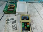 Electronic Touchdown Computer Football Game Sears 1970s Complete Works