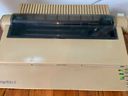 Vintage '89 Apple Imagewriter Ii G0010 Printer With Power Cable 1989 Powers On