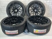 🔥19 Wheels Rims And Tires Fit Bmw Fit M4 M3 437m M3 M5 Sport Staggered 666