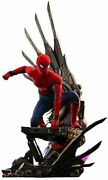 Quarter Scale Spider-man Homecoming Figure Spider-man Deluxe Ver. Marvel Hottoys