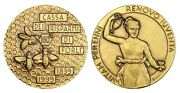 O293 Italy 1999 Br Medal Forli Credit Bank Bee Apiculture Hebe Greek Goddess