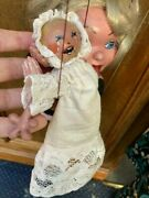 Rare Vintage Pelham Puppet Mother And Crying Baby 1960's