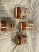 4 Vintage Ford Fomoco Rotunda Nos Oil Filters Man Cave Display Oil Can Sized