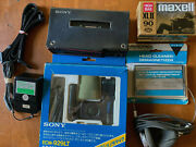 Sony Wm-d6c Runs Perfect Minty Cosmetics Mdr-70 Phones New Microphone Kit + More