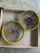 Fasterusa Crf250r Crf450f Completeandnbsp Wheels With Disk Brakes And Sprocket