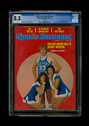 Sports Illustrated Newsstand 1977 Larry Bird Cgc 5.5 First Rookie Cover