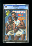 Sports Illustrated Newsstand 1983 Michael Jordan Cgc 4.0 First Rookie Cover