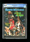 Sports Illustrated Newsstand 1984 Michael Jordan Cgc 4.0 First Pro Cover