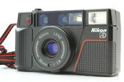 [mint+++] Nikon L35 Ad2 Point And Shoot 35mm F2.8 Film Camera From Japan