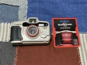 Canon Sure Shot A1 Point And Shoot Underwater 35mm Film Camera W/ Batteries Test