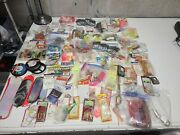 100 Plus Lot Freshwater Fishing Tackle New Old Stock