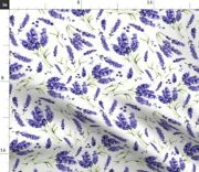 Flower Vintage Floral Nature Foliage Nursery Spoonflower Fabric By The Yard
