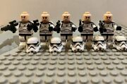 Lego Custom Star Wars 5 Pack New Battle Pack Clone Limited Edition Rare