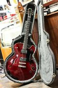 1993 Gibson Chet Atkins Tennessean - Wine Red W/ Case - Semi-hollow Guitar