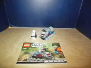 Phase 2 Clone Trooper Lego Star Wars 75028 Turbo Tank Microfighter Complete Set
