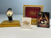 Kermit Fossil Watch Limited Edition 704 Of 2000 The Muppet Show 25th Anniversary