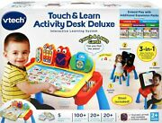 New Vtech Touch And Learn Activity Desk Deluxe Retail Packing