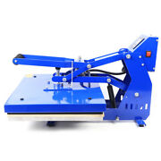 Heat Press Machine 16x20 Auto Open Clamshell T Shirt Press For Clothes Bag 1.4kw