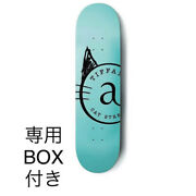 And Co. Cat Street Limited Edition Skateboard Deck Blue