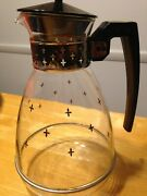 Vintage Replacement Carafe And Lid Proctor Silex Glass Coffee Pot Maker