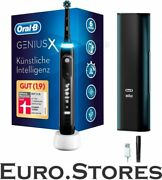 Oral-b Genius X 20000n Electric Toothbrush In Black With Timer 6 Cleaning Modes