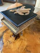 Vintage 1800s Piano Music Trinket Box Working Needs Cleaned