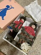 """Marian Yu Bisque Porcelain 1980,s Mint Boy And Girl 16"""" Dolls"""