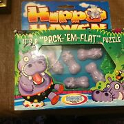 1998 Hippo Haven By Binary Arts Pack Em Flat Puzzle