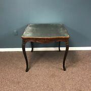 19th Century French Carved Oak Game Table