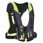 Onyx Impulse A/m-33 All Clear Harness Inflatable Pfd Grey 134300-701-004-21