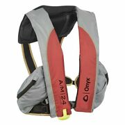 Onyx A/m-24 Deluxe Auto/manual Adult Inflatable Pfd Red 132100-100-004-20