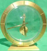 Jaeger Lecoultre 446 Vintage Swiss 8 Day Mystery Clock