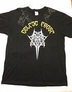 Celtic Frost Concert Shirt Xl Signed Whole Band Morbid Tales Tom Warrior Slayer