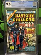 Giant-size Chillers 1 Cgc 9.6 - First Lilith -marvel Blade Movie - Hot Key