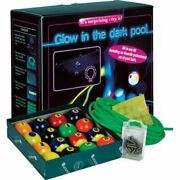 Glow In The Dark Black Light Billiard/pool Table Kit With Complete 16 Ball
