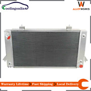 4 Rows Radiator Fits 1987-1998 Land Rover Range Rover Discovery I/ii 3.9l 4.0l