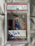 Zion Williamson Rated Rookie Auto Red 158 Rc 2019-20 Optic Choice Psa 8 Dna 10