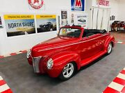 1940 Ford Hot Rod / Street Rod - Convertible - Ls1 - 4l60e - Roadster Shop 1940 Ford Hot Rod / Street Rod Red-metallic With 5672 Miles Available Now