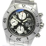 Breitling Super Ocean Chronograph A13341 Black Dial Automatic Menand039s Watch_639776