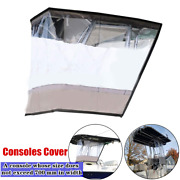 Boat Yacht Consoles Cover Universal Clear Hood For T-top Enclosure Spray Shield