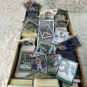 Over 2,500 Baseball Cards Lot, Some Autographed Topps, Bowman And Upper Deck