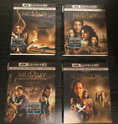 The Mummy 1 2 3 + The Scorpion King 4k Uhd Slipcovers Only Rare