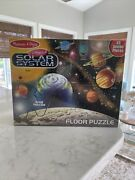 Melissa And Doug Solar System Extra Large Floor Puzzle 48 Pieces 2x3 Feet New