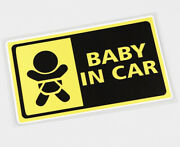1pcs Baby In Car Baby On Board Sticker Decals Accessories High Quality Product