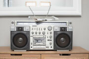 Sanyo M-x920 Boombox Andbull Am-fm Stereo/cassette Andbull Good Cond Andbull Parts/you Fix Tape