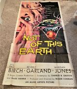 Not Of This Earth Three Sheet Movie Poster - Roger Corman Hollywood Posters